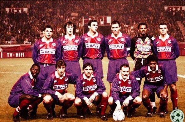 Olympia Auf Twitter Paris Saint Germain 1992 93 Fournier Sassus Ricardo Gomes Le Guen Lama Roche Weah Ginola Colleter Guerin Valdo Psg Https T Co 8gwcfxybh0