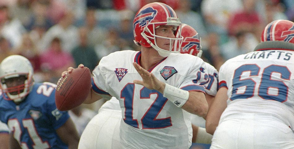 Happy Birthday Jim Kelly, Buffalo Bills quarterback 1986-1996. Born on this date in 1960. Get better soon!