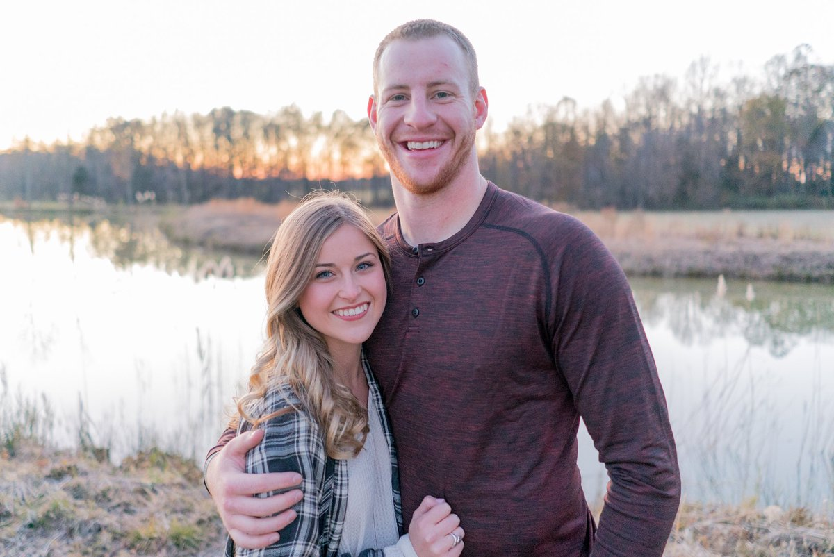 Carson Wentz Wedding.Carson Wentz On Twitter My Valentine For Life I M The Luckiest