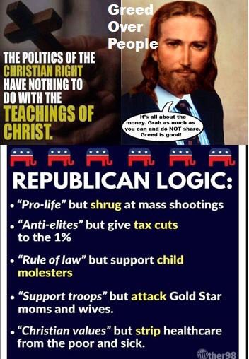 #RepublicanJesus #TrumpDailyScandal #ThoughtsAndPrayersDoNothing #ThisIsNotNormal #NRAterrorists #TrumpNRAmoneyRussiaGOP #TrumpRussia #GunControlNow #guncontrol #StopTheViolence #EnoughIsEnough #BanAssaultRifles #DoSomethingGOP #GunViolence #schoolshooting #TrumpNRAmoney