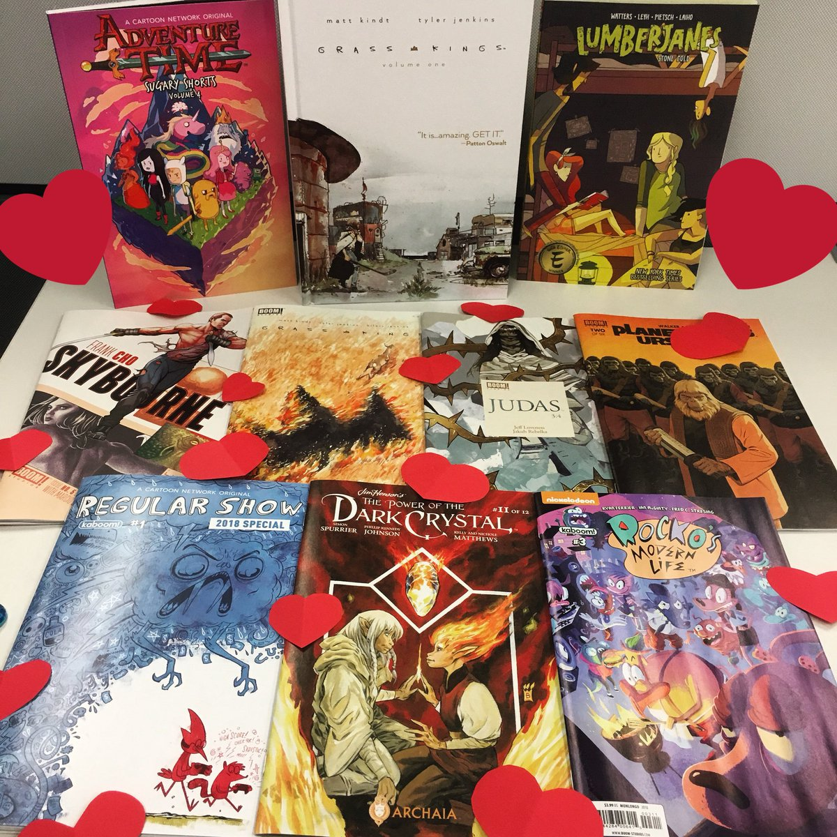 Share your love of comics this #NCBD! What #comics are on your #ValentinesDay pull list?