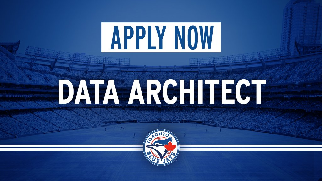 Have a passion for data & baseball? Interested in being part of our team?   Were hiring a Data Architect!   Apply now: atmlb.com/2F0iytZ