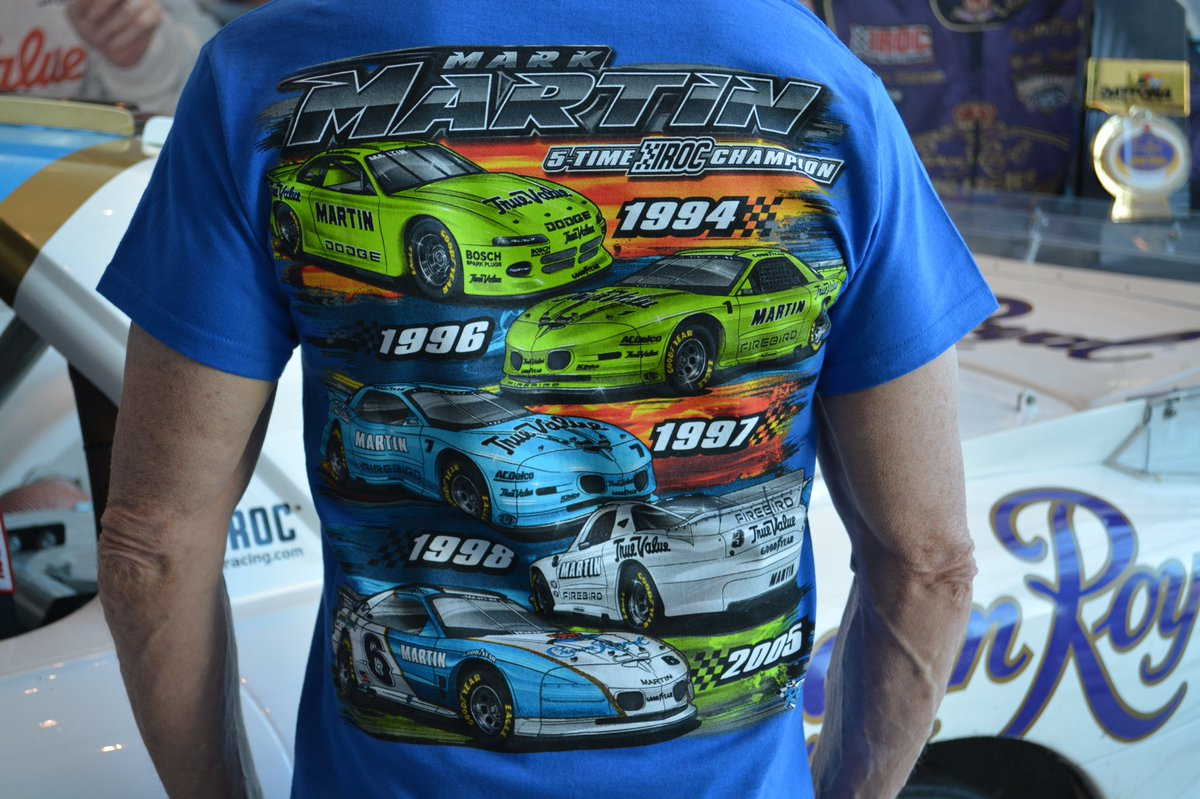 61a27624 Check out http://MarkMartin.com for our new IROC shirts and hoodies and get  a free autographed hat too. In all my career the IROC success is what I'm  most ...