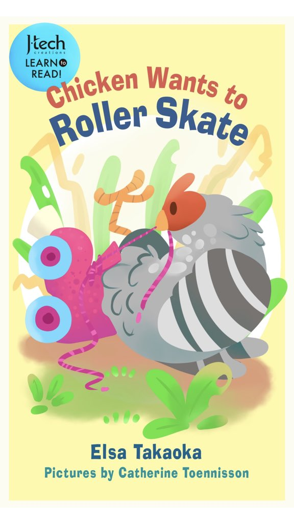 Very happy to share that my new release #kidlit is free to download from 2/14-2/18. A silly learn to read book about a chicken who learns how to roller skate! #BookGivingDay2018 https://www.amazon.com/Chicken-Wants-Roller-J-Tech-Creation-ebook/dp/B07846RG7J/ref=sr_1_7?ie=UTF8&qid=1518621775&sr=8-7&keywords=Elsa+Takaoka#customerReviews…