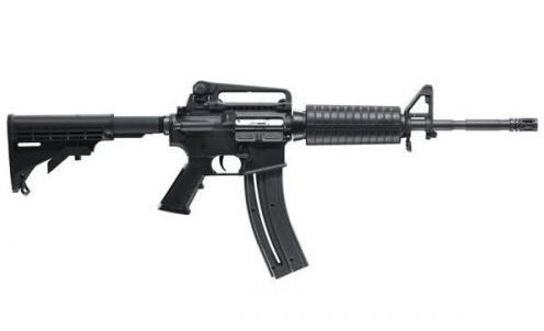 This was the weapon used at Stoneman Douglas High School. It's an AR-15. It is the same weapon used at Sandy Hook, Vegas, Texas church, Orlando, Parkland, Aurora and San Bernardino.  Why is this weapon easily available? #gunsafetyalliance