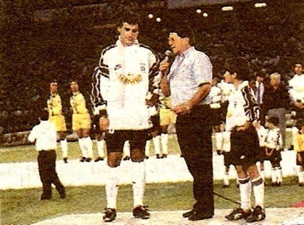 Chamaco Valdés y José Luis Sierra, en la...