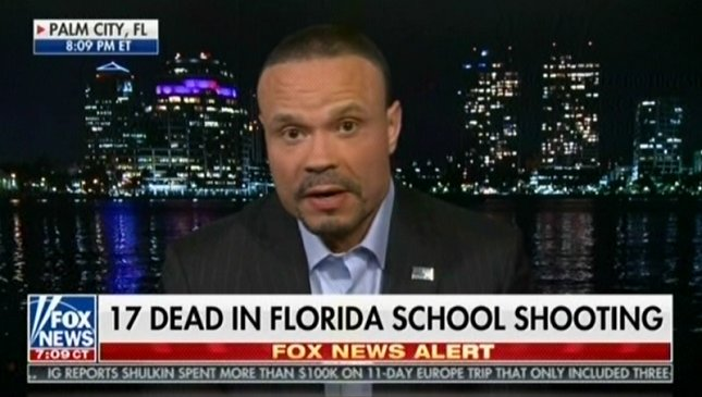 Tucker Carlson hosts NRATVs Dan Bongino to discuss Florida school shooting and somehow easy access to guns didnt come up mm4a.org/Zee