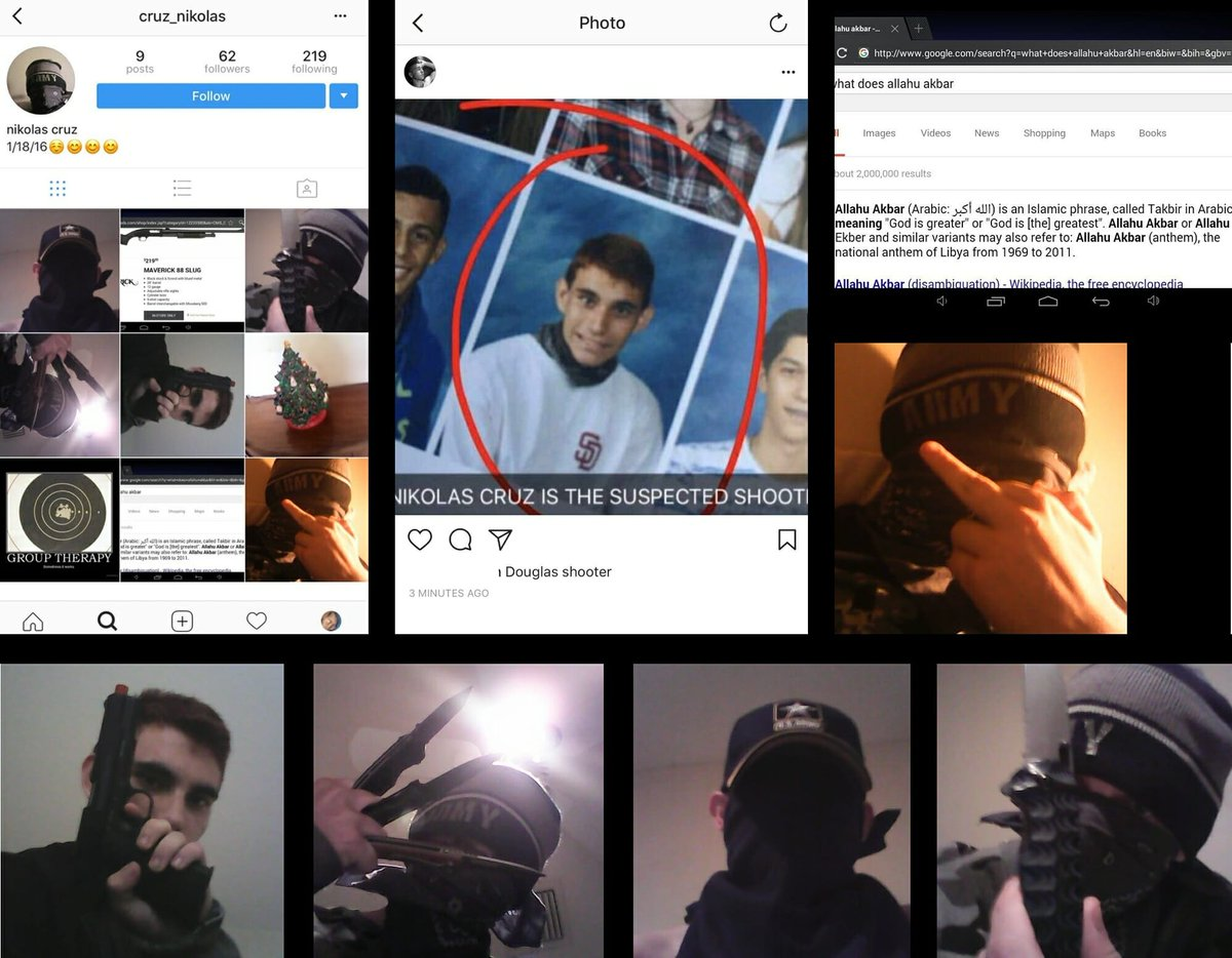 Was Nikolas/Nicholas/Nicolas Cruz a #DACADreamer? Does anyone know? How was this kid NOT identified by #FBI/#CIA as a THREAT? LOOK AT HIS SOCIAL MEDIA ACCOUNTS! thegatewaypundit.com.convey.pro/l/yx4XEyX #MAGA #TRUMP #QAnon #StonemanShooting #2A (Stoneman Douglas… by #Kevin_FTW via @c0nvey
