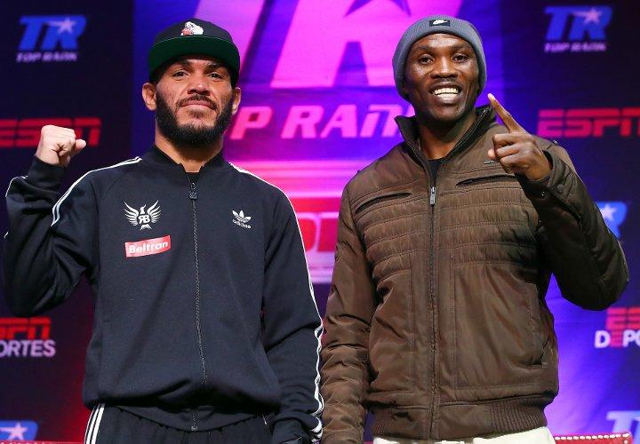 ��#Boxeo | Raymundo Beltran y Paulus Moses cara a cara en Reno ➡️ https://t.co/GdUHbLqcsf https://t.co/qzUknzkr3L