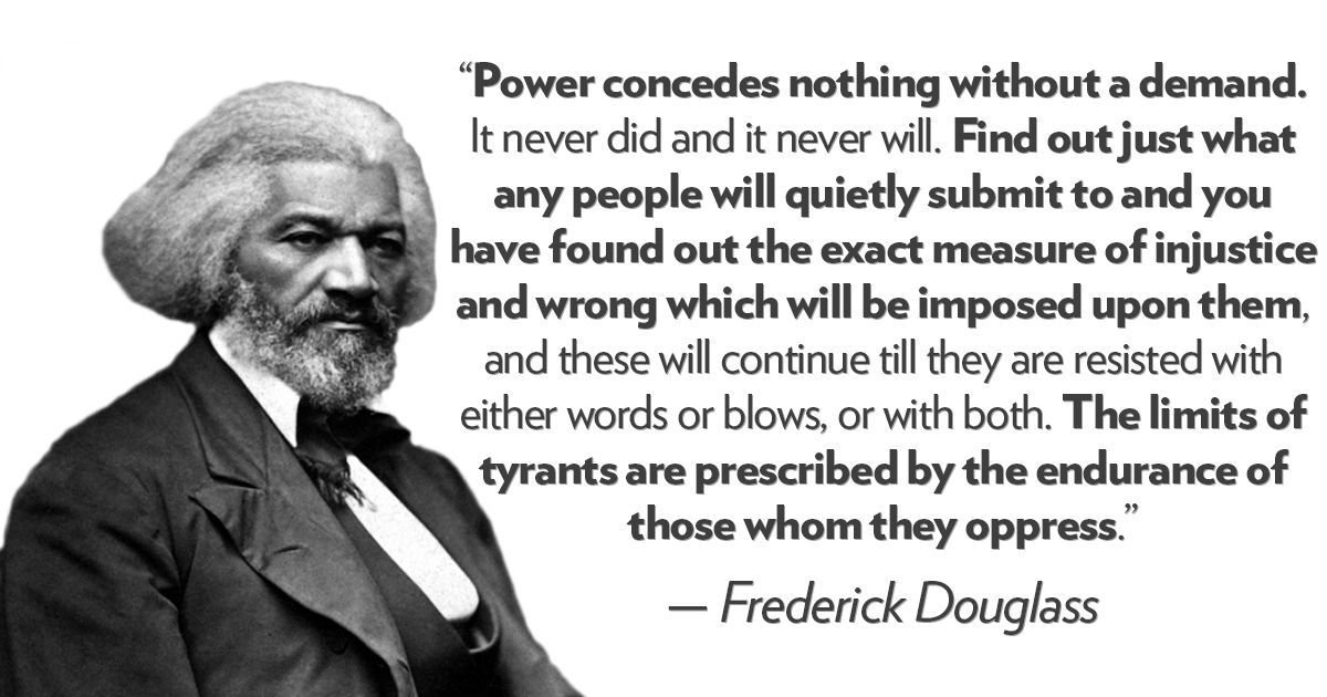 As a fighter for emancipation, legal equality for women, and the principles that animated the birth of the United States, Frederick Douglass is rightfully a celebrated American. https://t.co/SeMqONzuvU #BlackHistoryMonth2018 #Douglass200