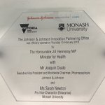 It's a dream to finally launch & unveil the latest #JJIPO @MonashUni @JNJInnovation with support of @VicGovAu We're looking forward to seeing  a lot more of the Victorian bio-medtech community make the connection with us. @joaquinduato @JillHennessyMP