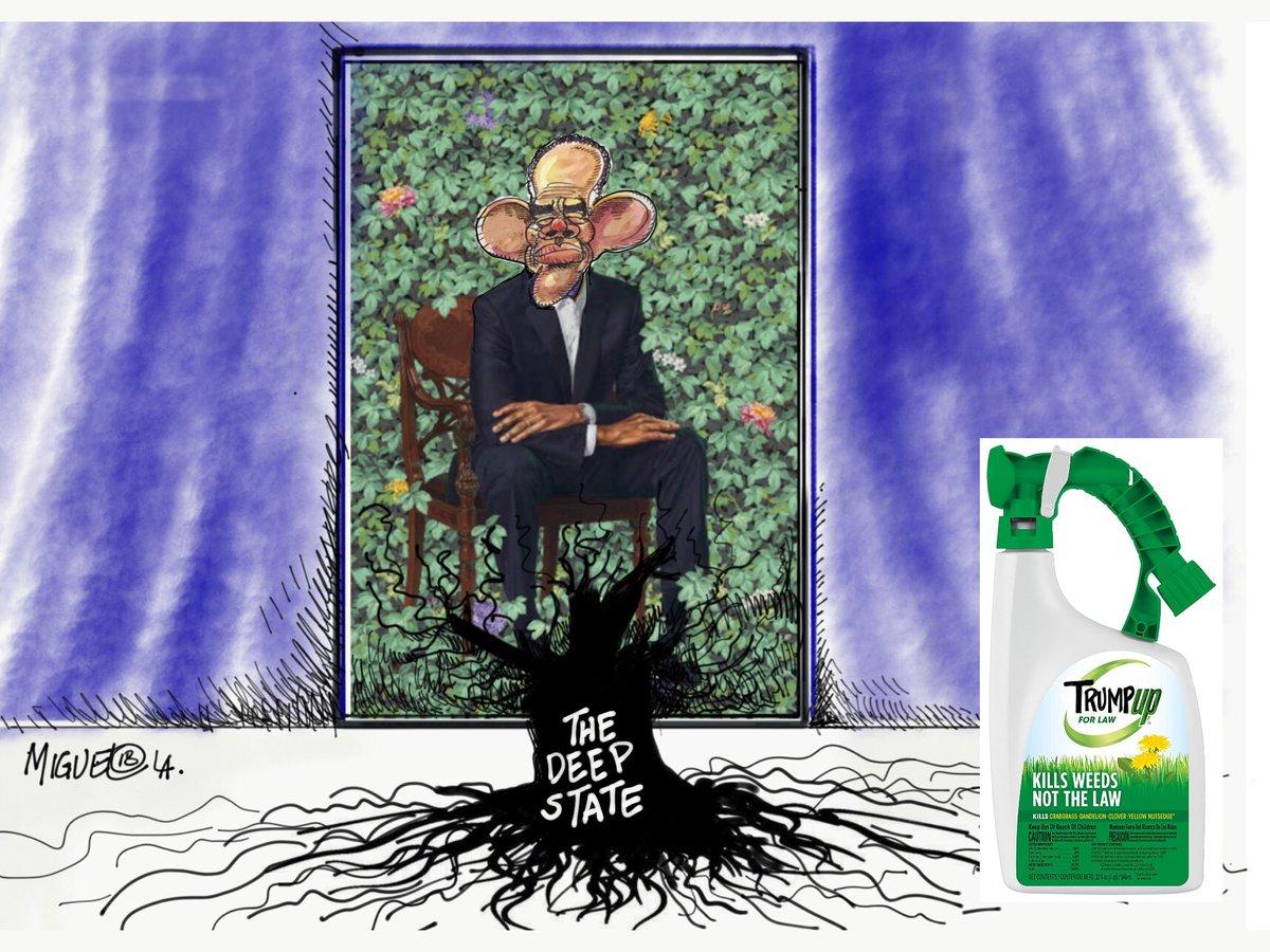 #ObamaPortraits #ObamaLegacy #DrainTheDe...