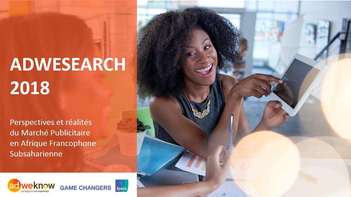Conférence ce matin sur les perspectives du marché #média et #pub en #Afrique francophone #AdWeSearch