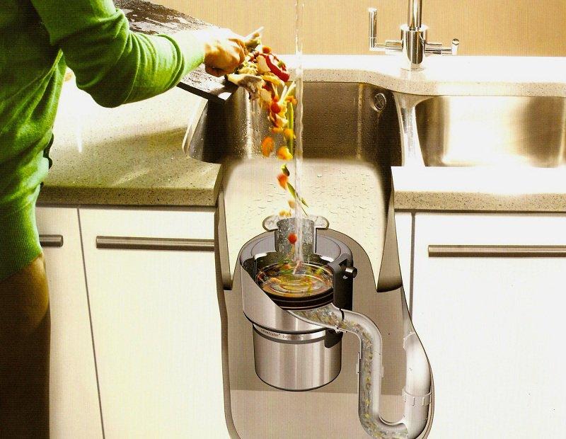 измельчитель пищевых отходов для раковины купить