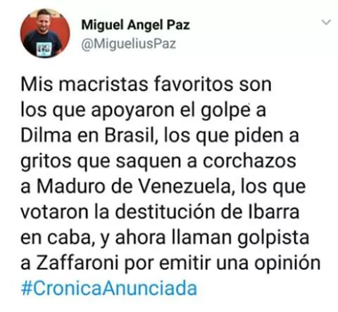 #MacricidioDia798 #CEOcracia https://t.c...