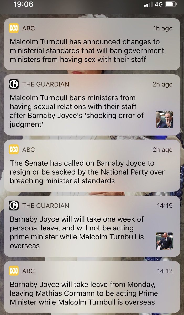 I wish the notifications were from another universe #auspol