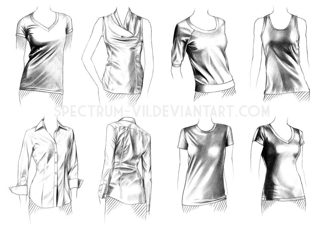 線画でどの程度のシワ線を残すかとか服の生地の硬さとかすっげぇ理解しやすい・・・!('□')