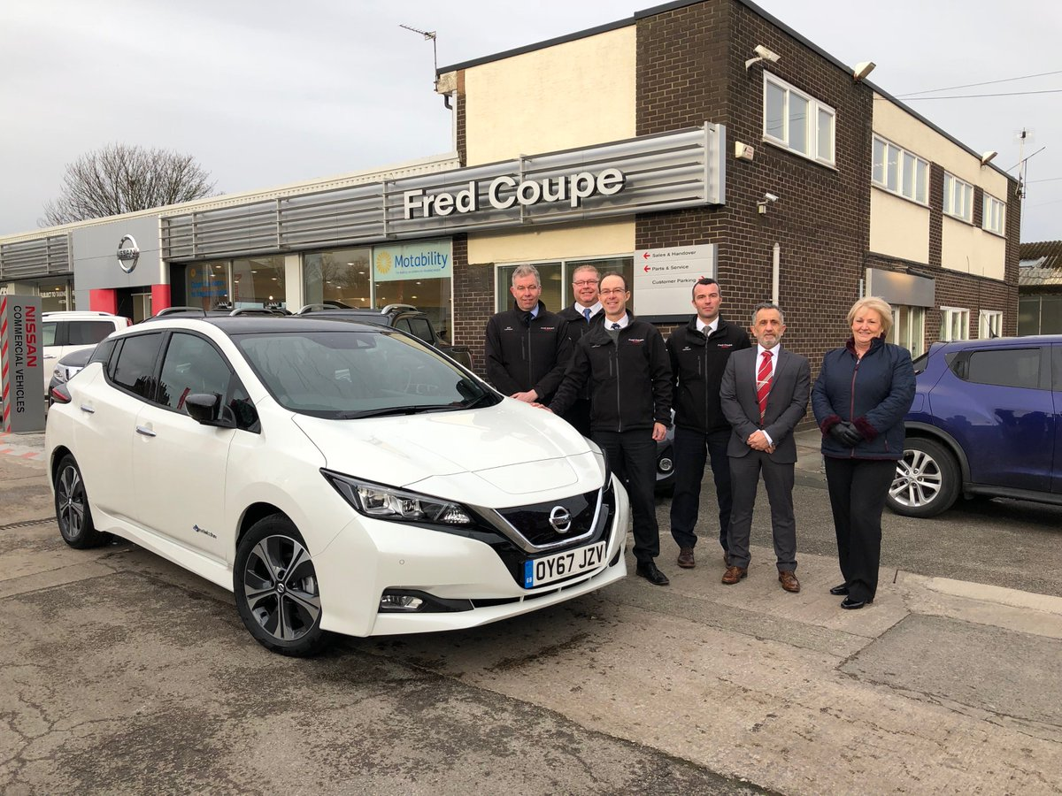 Yesterday was a bumper day for the #SimplyAmazing #Nissan #LEAF on its tour, started at the friendly @fredcoupenissan - thanks for having us! https://t.co/gQtaJdlTZi https://t.co/54MrTon4xX