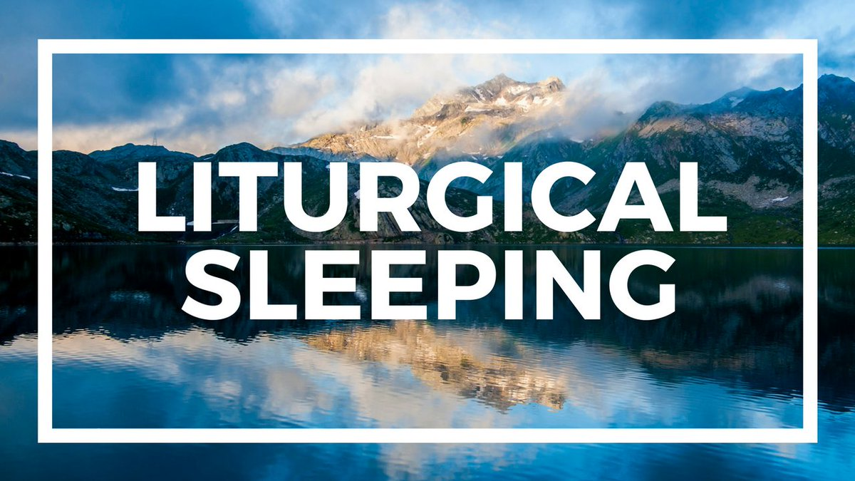 Liturgical Sleeping  https:// youtu.be/qvH-mio7ktM  &nbsp;    #aporla13 #diamundialdelaradio #felizlunes #otdirecto12f #madrid #concours #pyeongchang2018  #biathlon  #starwarsbattlefrontii #rt #spd #biathlon .#merkel #rosenmontag #home #homestyling #interiorarchitecture #summerbedroom #USA <br>http://pic.twitter.com/lCLbPI1g8E