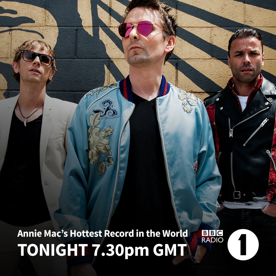 RT @muse: #ThoughtContagion is @AnnieMac'sHottest Record. Tune in to @BBCR1 tonight at 7.30pm GMT. https://t.co/4b7LECUJjl