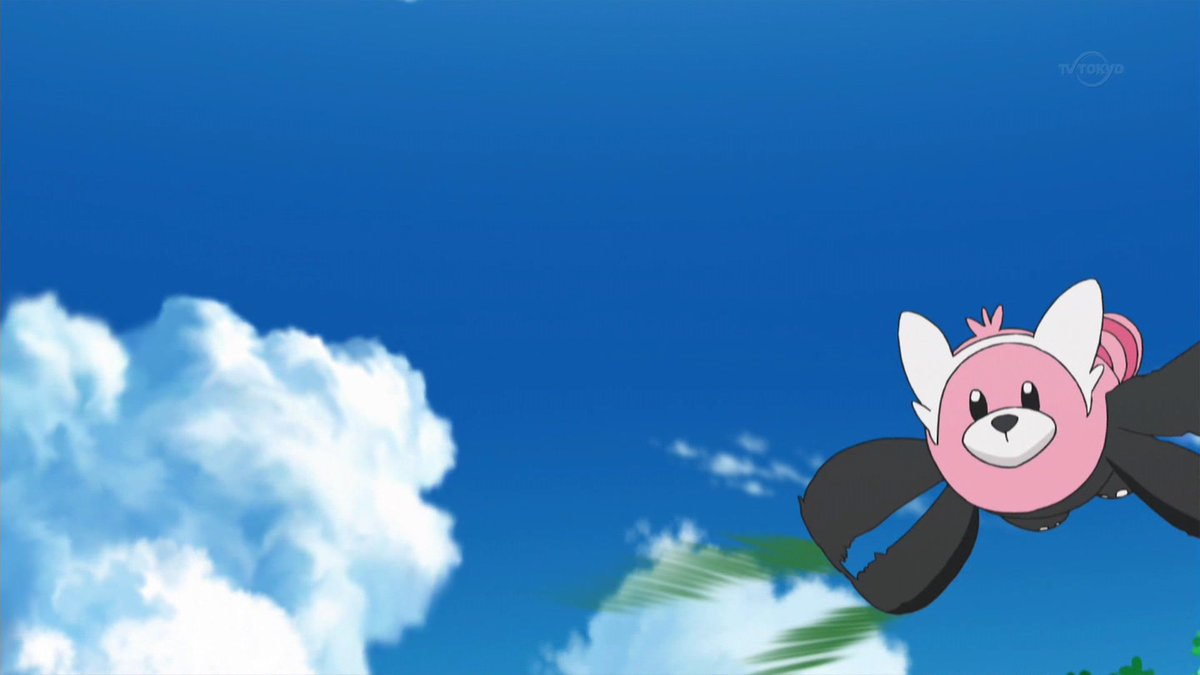 キテルグマとぶ #anipoke #pokemon https://t.co/M...