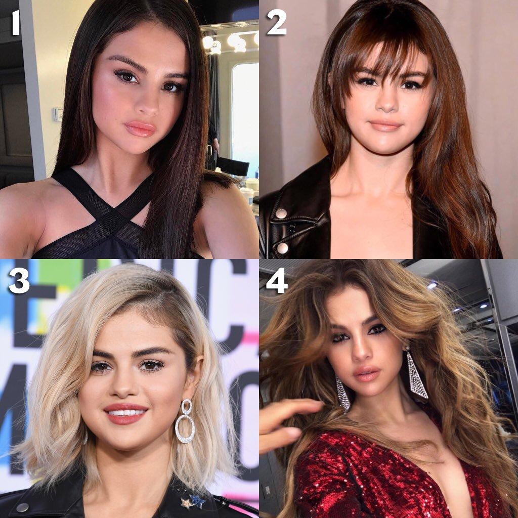 💇🏻♀️ Les cheveux de @SelenaGomez font clairement rêver ! Quelle coiffure préférez-vous ? A vous de voter 😍😍 #NRJ