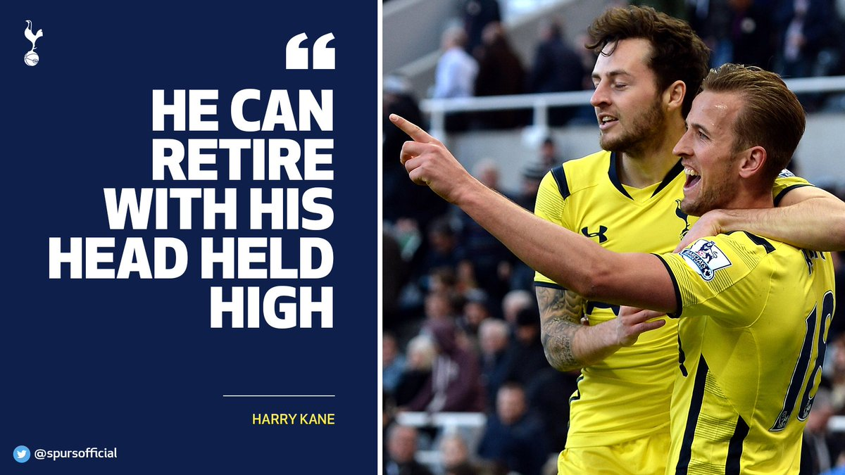 💬 @HKane has some kind words for @RyanMason.  More from Harry, Mauricio & John McDermott - spurs.to/MasonWishes   #OneOfOurOwn