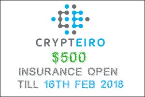 Image for CRYPTEIRO Insurance Request open !