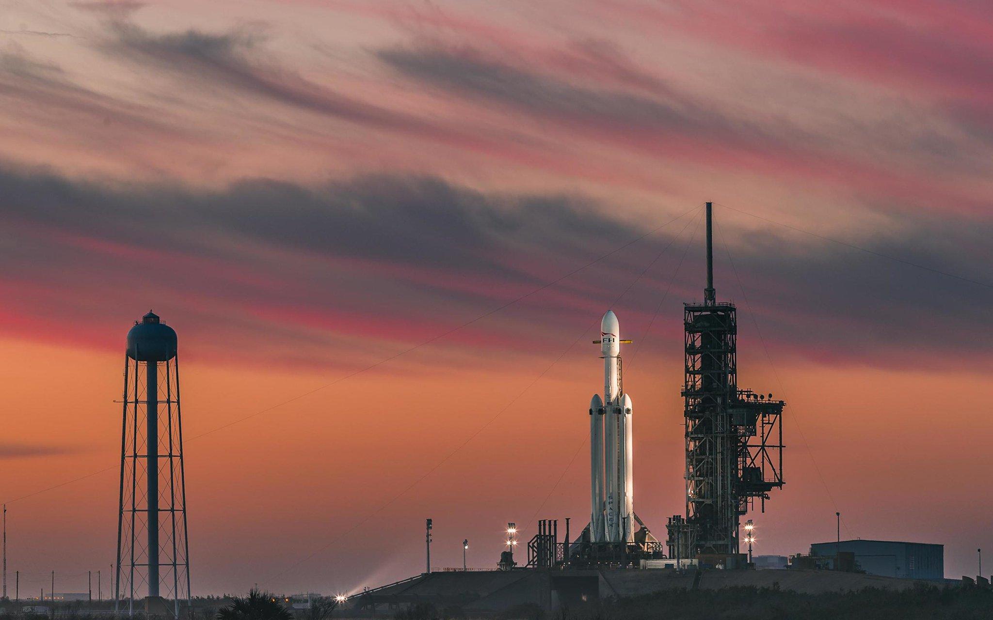 spacex falcon heavy rocket - HD1920×1001