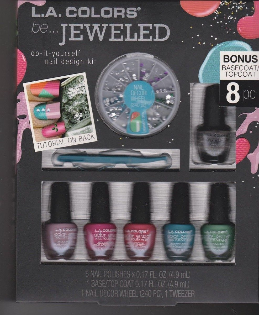 Thecoolfinds on twitter check out la colors be jeweled diy do it jeweled diy do it yourself nail design kit buy here httpebayitm 332552811640rokencugaynsoutknh3dhkz via ebay sale closeoutsale solutioingenieria Image collections
