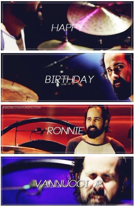 Happy birthday to an amazing, and personally my favourite, drummer Ronnie Vannucci Jr.