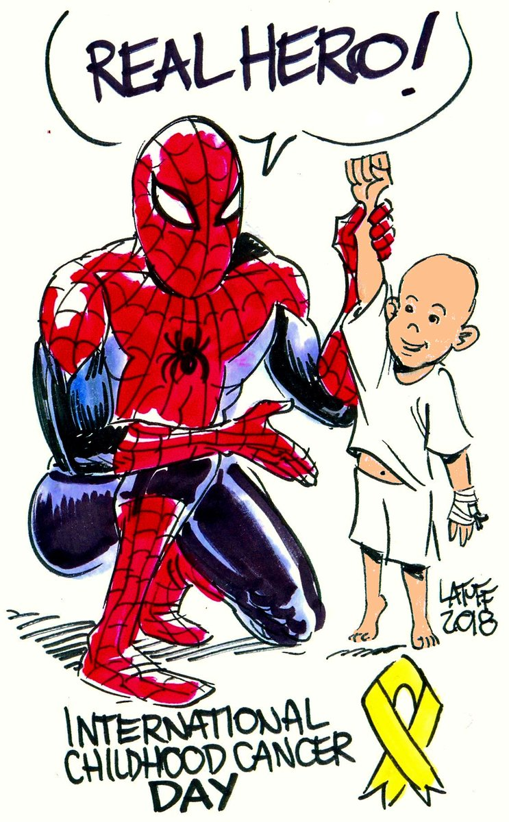 In this #ChildhoodCancerDay let&#39;s remember who&#39;s the real life hero! #CancerInfantil <br>http://pic.twitter.com/Pg9IkWbmyf