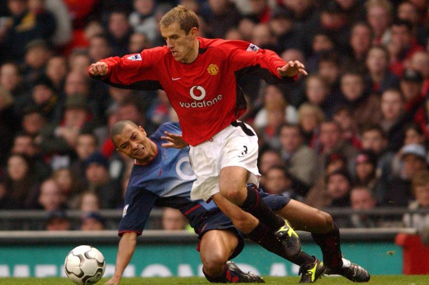 To celebrate the 10,000th #PL match, past players name their favourite   Up first, Phil Neville on a special @ManUtd win over Arsenal: preml.ge/lr6oqL  #1in10000