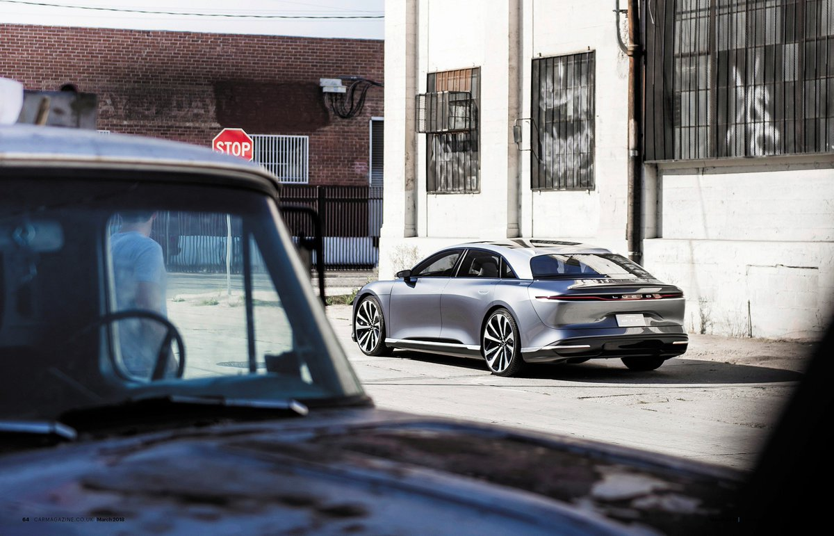 Lucid Motors On Twitter The March Issue Of Carmagazine Features A