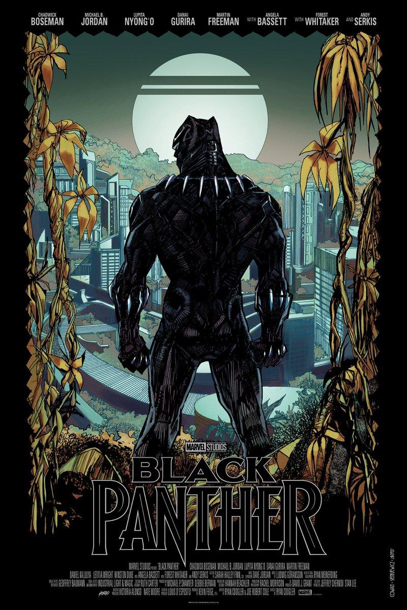 Pantera Negra Ilustrador Divulga P 244 Ster Em Comemora 231 227 O
