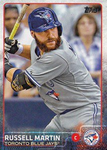Happy 35th Birthday to Montreal native and Toronto Blue Jays catcher Russell Martin!