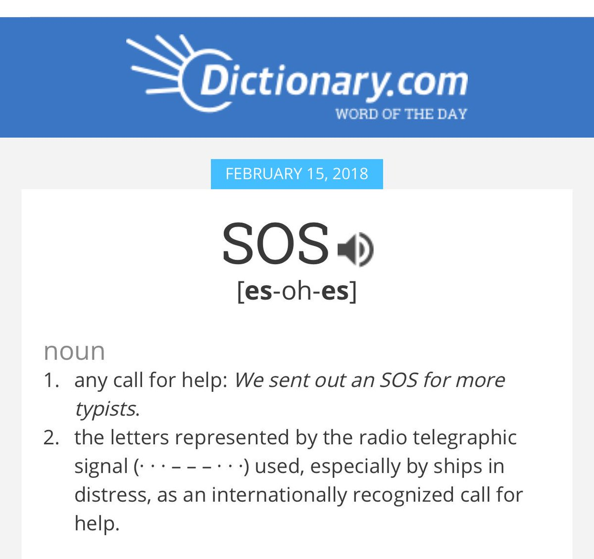 Wow: My personal brand is https://t.co/Wq6n3olbpr's word of the day! #sos #branding #typists