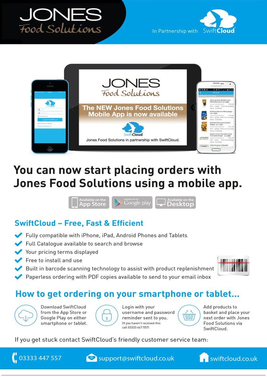 Jones Food Solutions on Twitter: