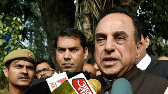Can Owaisi count how many Muslims are in terrorist organisations attacking Army: Subramanian Swamy  https://t.co/FLN1uiwvAy