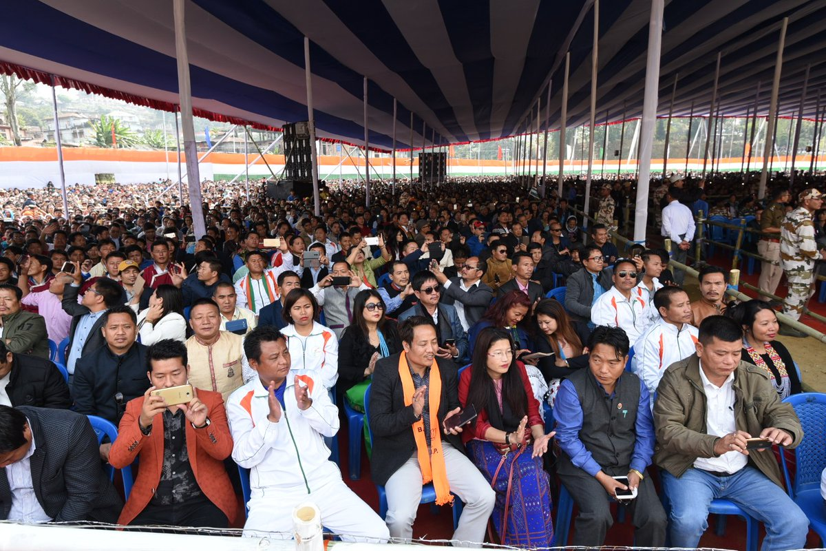 Glimpses from my Arunachal Pradesh visit, where I inaugurated various projects. Touched by the warmth of the people.