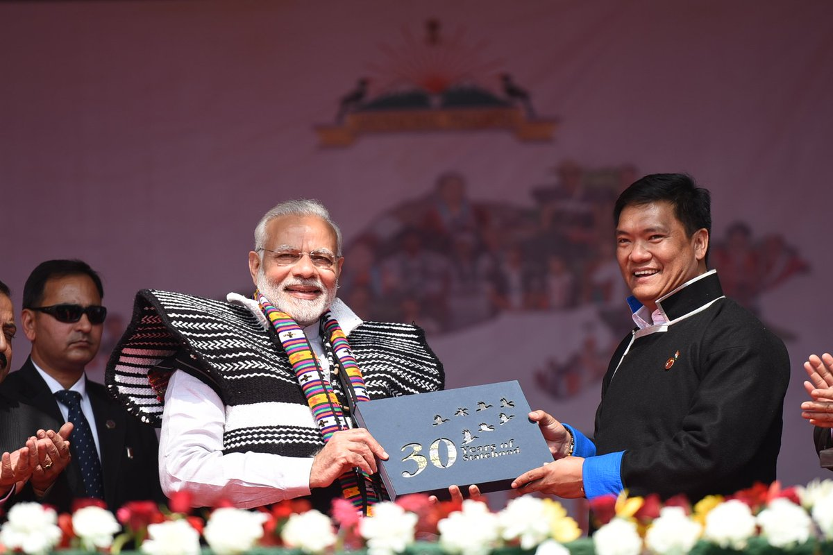 The @CMPemaKhandu-led Arunachal Pradesh Government is doing exceptional work in the state, bringing all-round and inclusive development. https://t.co/NcLWoadbVV
