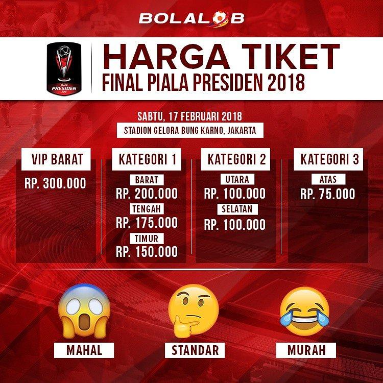 Bolalob Com On Twitter Panpel Piala Presiden Telah