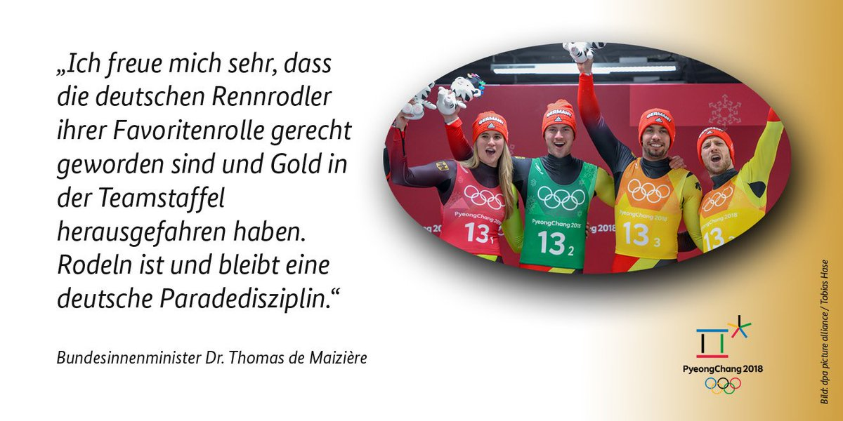 Bundesministerium des Innern's photo on #PyeongChang2018