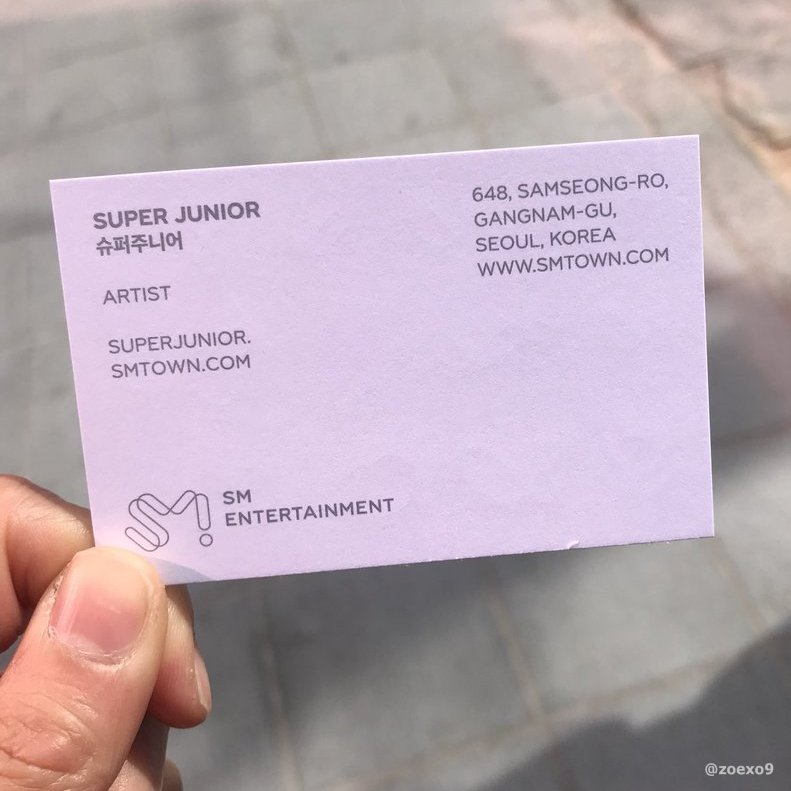 Kpop Business Cards on Twitter: \