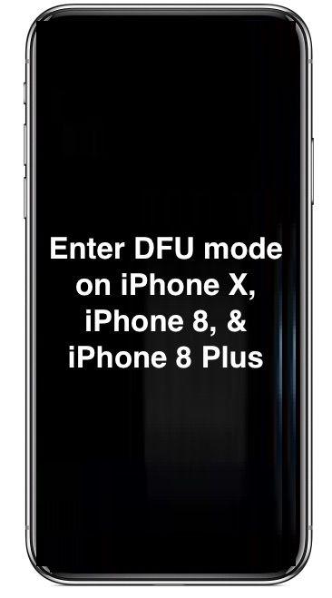 كيفية وضع iPhone في وضع DFU