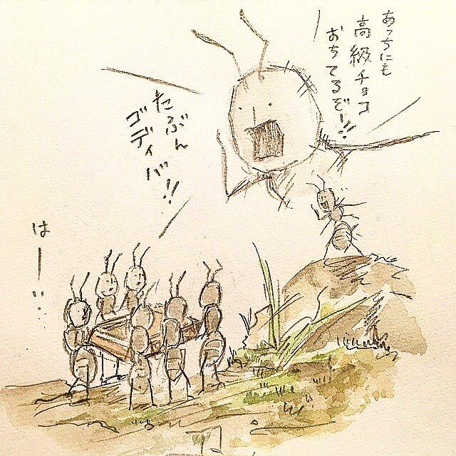 ゆるふわ昆虫図鑑's photo on バレンタイン
