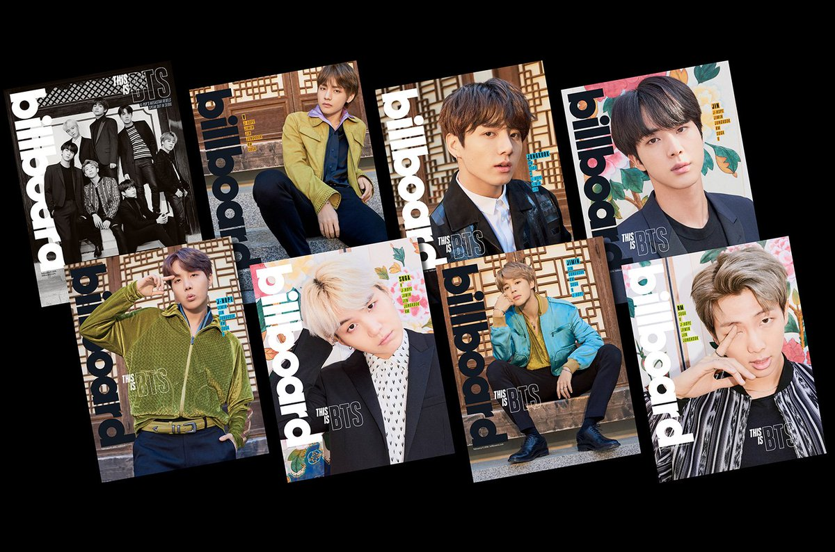 BTS stars in Billboard package featuring 8 different covers   A first for us! We are selling BTS limited-edition box sets, featuring 8 full-size posters and 8 different covers feat. each member, all in a custom box! #BTSonBillboard https://t.co/tHnAh9aTfh