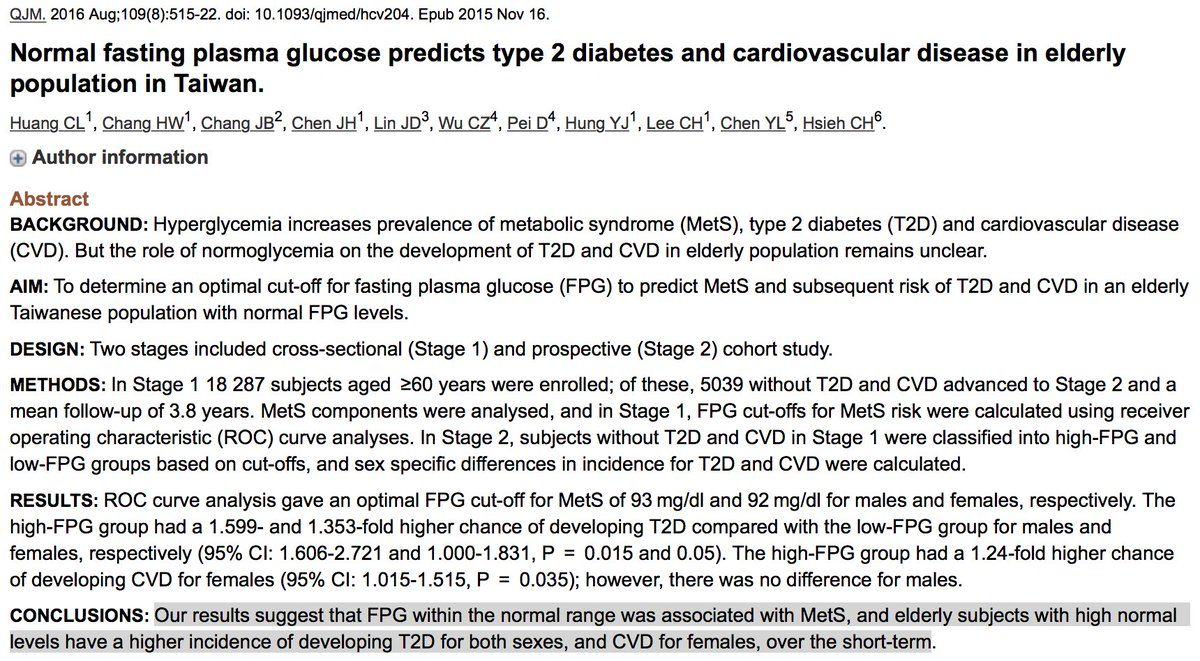 If we focused on #insulin, rather than glucose, we'd detect these problems  earlier and more accurately.pic.twitter.com/i6GLGx5UIO