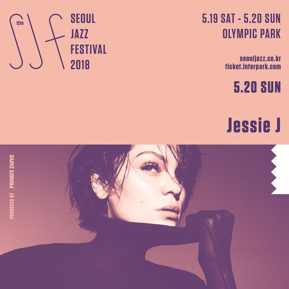 I can't wait for this show! Sunday 20th May  Seoul Jazz Festival 🌹  https://t.co/rcBNT0KYYG https://t.co/yZWN9UAp0a