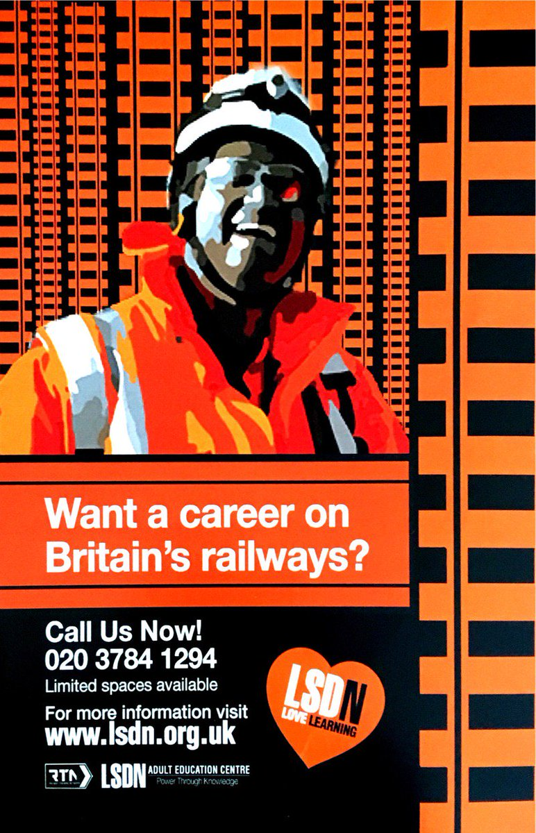 Lsdncroydon hashtag on twitter please call 0203 784 1294 if you are interested in joining us lsdncroydon jobskills security railway croydonconnect jcpinsthlondon picitter solutioingenieria Image collections